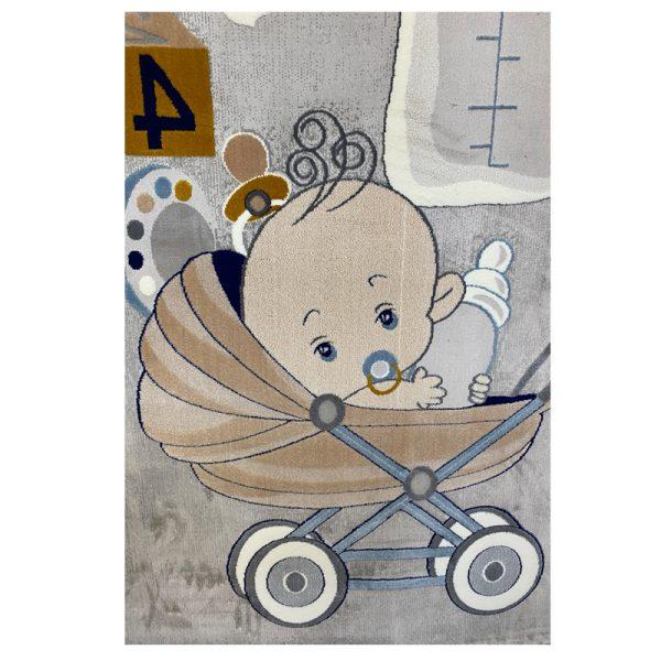 فرش کودک کالسکه نوزاد