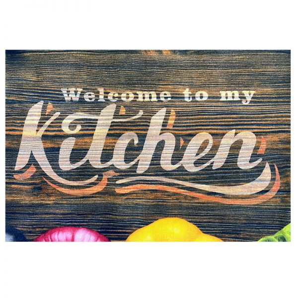 فرش آشپزخانه طرح صیفی جات