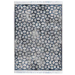 فرش مراکشی خاکستری سرمه ایی کد 100472