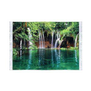 تابلو فرش کلاریس طرح آبشار