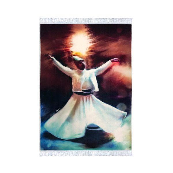 تابلو فرش رقص تندیس 2