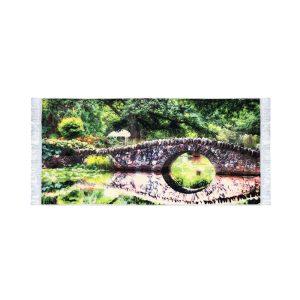 تابلو فرش کلاریس طرح پل سنگی