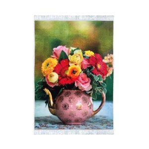 تابلو فرش کلاریس طرح گل