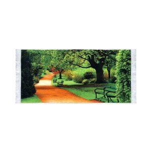 تابلو فرش پارک جنگلی