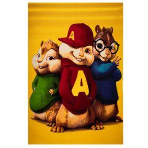 فرش اتاق کودک طرح آلوین و سنجاب ها 2