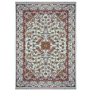 فرش ابریشمی 700 شانه کد HB10-312