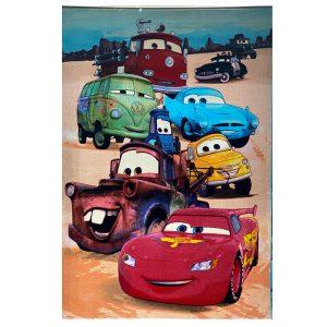 فرش کودک ماشین مک کویین