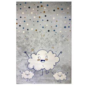 فرش کودک طرح ابر کدSB947