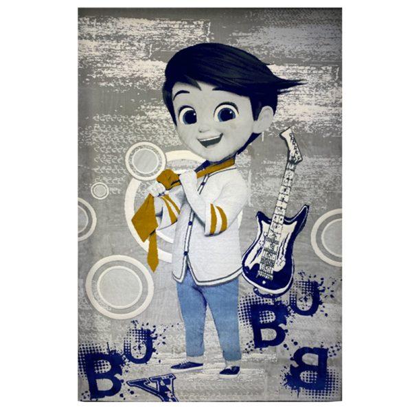 فرش کودک پسر کرواتی با گیتار کدSB945