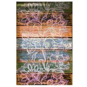 فرش فانتزی طرح الوار چوب کد 1164