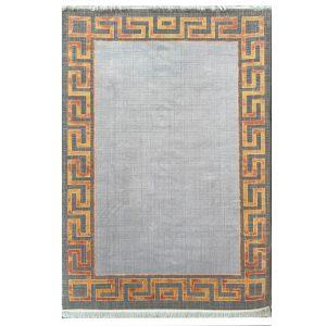 فرش ورساچه طوسی مسی کد S843