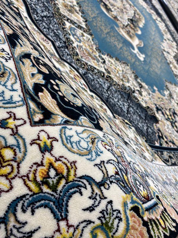 فرش ۷۰۰ شانه چشمه فیروزه ای