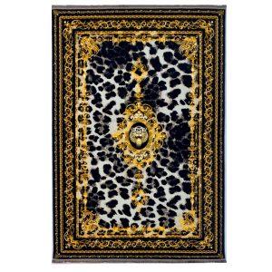 فرش فرانسوی 1200شانه زمینه طلایی کدk120052