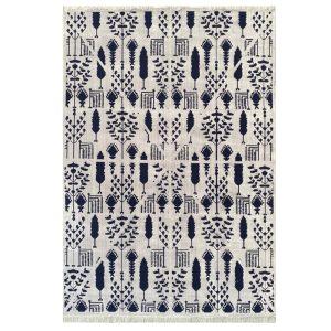 فرش مراکشی زمینه طوسی کد S839