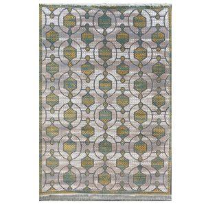 فرش مراکشی زمینه طوسی کرم کد100482