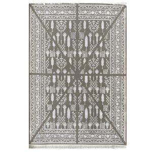 فرش مراکشی زمینه طوسی کد S838