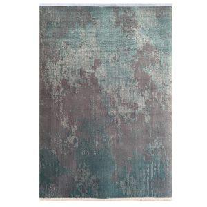 فرش پتینه 500شانه یشمی بنفش کدk50027