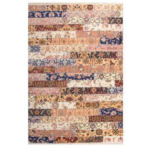 فرش چهل تیکه تمام رنگ کد 100503