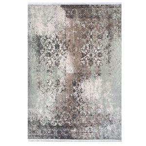 فرش کهنه نما خاکستری طوسی کدk120042