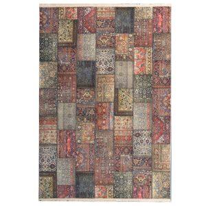 فرش چهل تیکه تمام رنگ کد 100500