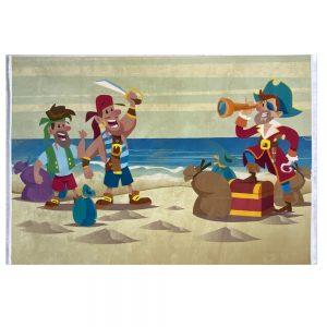فرش کودک اختصاصی طرح دزدان دریایی