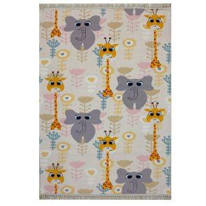 فرش اختصاصی فیل و زرافه کد1020