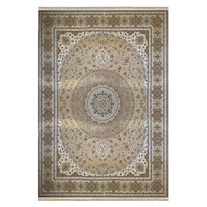 فرش ماشینی 1500 شانه زمینه نسکافه ای sh1501