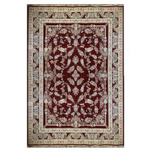 فرش ماشینی 1500 شانه طرح افشان لاکی