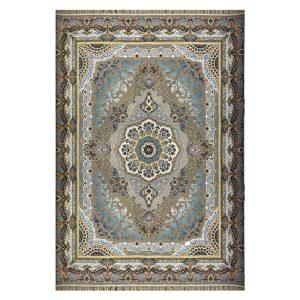 فرش ۱۲۰۰ شانه زمینه خاکستری کدSH-1204