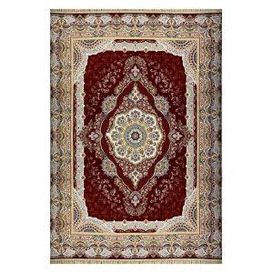 فرش ۱۲۰۰ شانه زمینه قرمز کدSH-1205