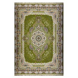فرش ۱۲۰۰ شانه زمینه سبز کدSH-1206
