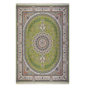 فرش ۱۲۰۰ شانه زمینه سبز کدSH-1215
