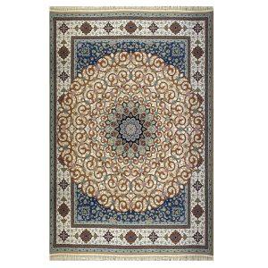 فرش ۱۲۰۰ شانه زمینه نسکافه ایی کدSH-1209