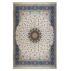 فرش ۱۲۰۰ شانه زمینه کرم کدSH-1211