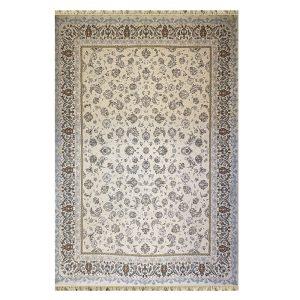 فرش ۱۲۰۰ شانه زمینه کرم کدSH-1217