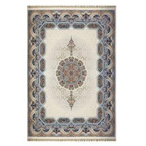 فرش ۱۲۰۰شانه زمینه کرم کدSH-1247