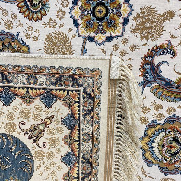 فرش ۱۲۰۰شانه زمینه کرم کدSH-1253
