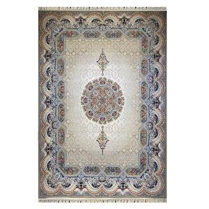 فرش ۱۲۰۰شانه زمینه گردویی کدSH-1246