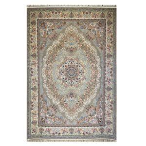 فرش ۱۲۰۰شانه زمینه گردویی کدSH-1250