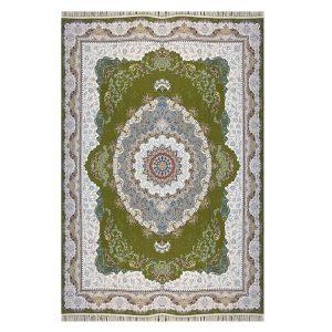 فرش ۱۲۰۰ شانه زمینه سبز کدSH-1220