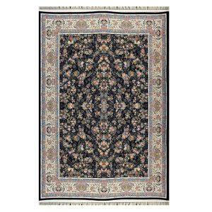 فرش ۱۲۰۰ شانه زمینه سرمه ای کدSH-1231