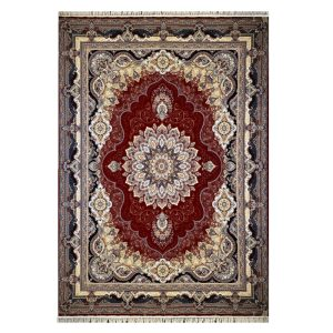 فرش ۱۲۰۰ شانه زمینه قرمز کدSH-1226