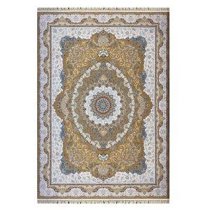 فرش ۱۲۰۰ شانه زمینه نسکافه ای کدSH-1221