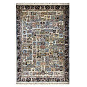 فرش ۱۲۰۰ شانه زمینه کرم کدSH-1229