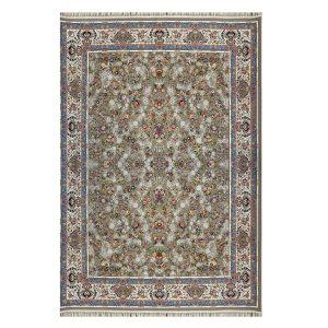 فرش ۱۲۰۰ شانه زمینه گردویی کدSH-1234